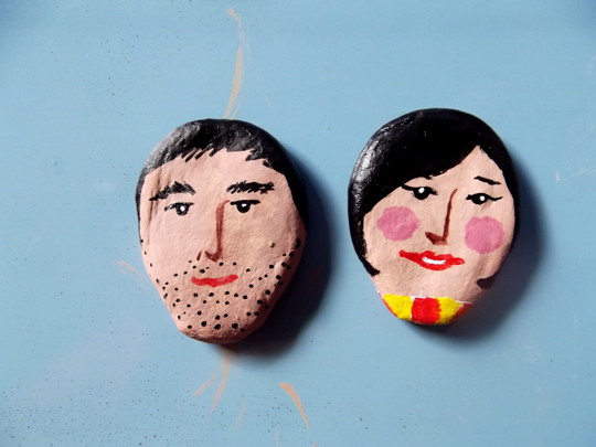 woman and man clayfriend