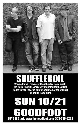 Shuffleboil @ The Goodfoot