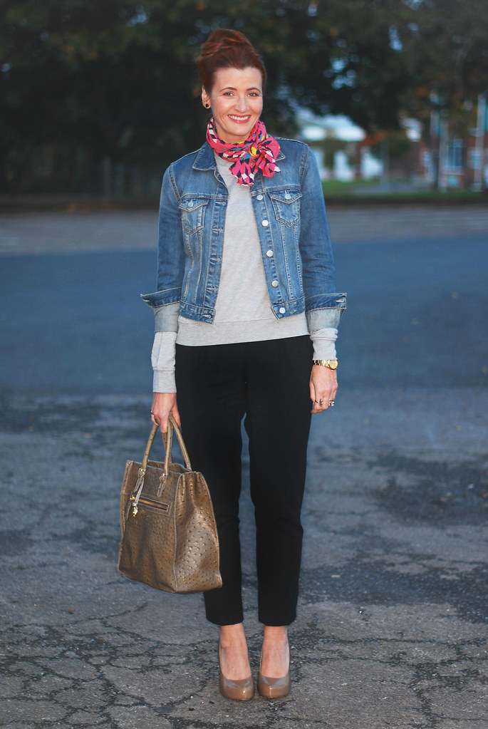Denim, Tailoring and Sweatshirt Contrasts
