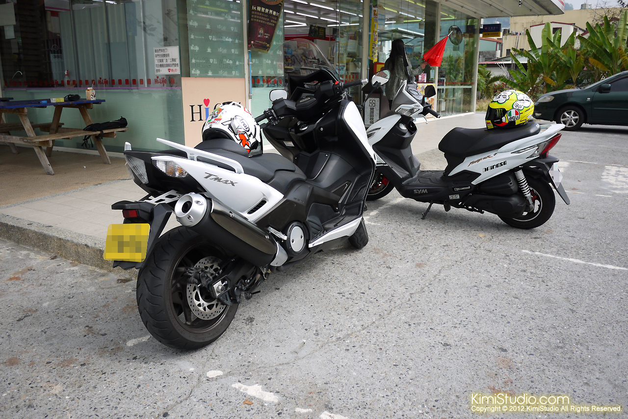 2012.10.16 T-Max 530 New Fighter ZR-002