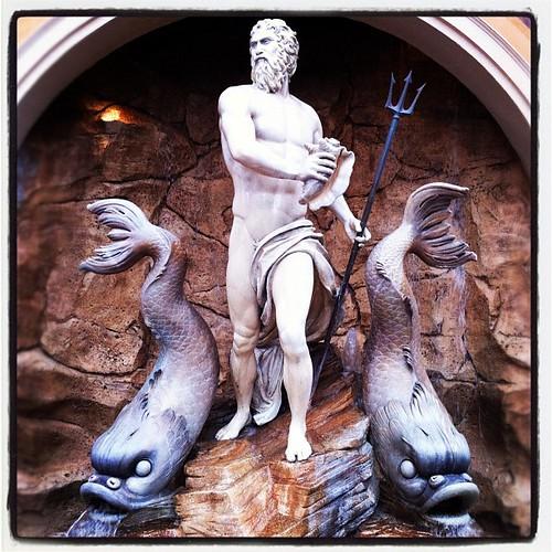 Neptune fountain in #Italy #wdw #epcot
