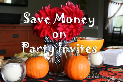 Save Money on Invitations