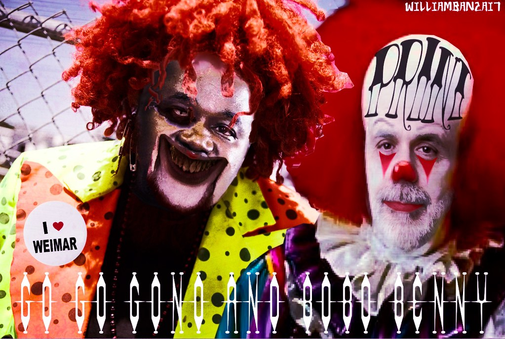 BOBO AND GONO THE CENTRAL BANKING CLOWNS