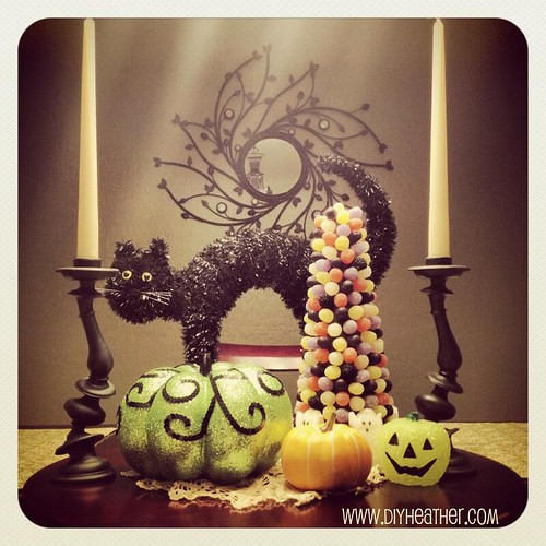 halloween tree by Heather Says