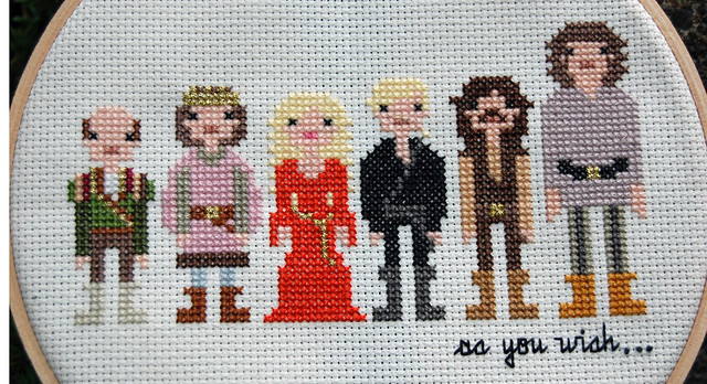 The Princess Bride Cross Stitch