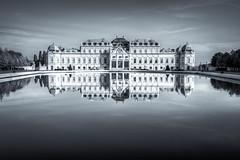 belvedere castle, vienna, austria