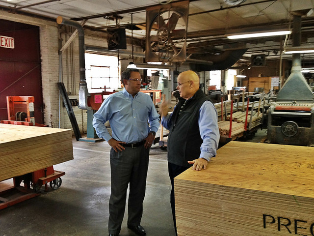 Rod Lambeth is the CEO of Tomlinson Erwin-Lambeth, a custom home furnishings business. Rod gave us a tour and talked regulatory reform.
