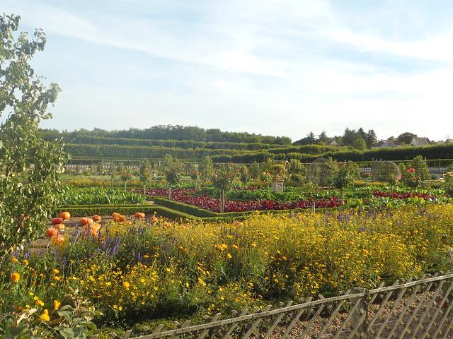 Jardín de hortalizas de Villandry
