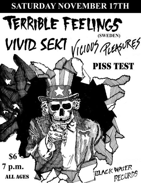 11/17/12 TerribleFeelings/VividSekt/ViciousPleasures/PissTest
