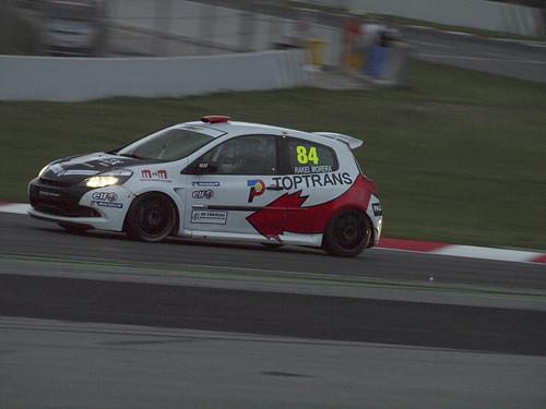 Rakel Morera en Eurocup Clio en el Circuit de Catalunya