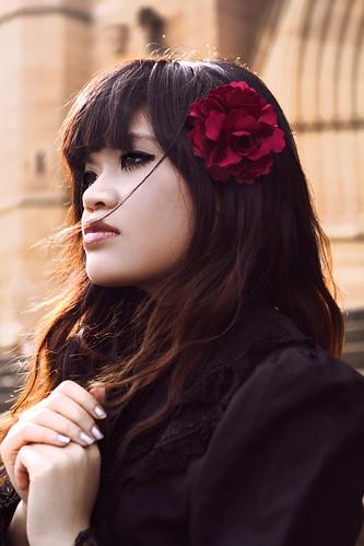 [フリー画像素材] 人物, 女性 - アジア, ロリータ・ファッション ID:201210270800