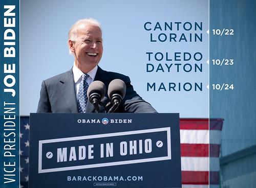 Joe Bide in Ohio: 10/22 - 10/24