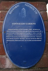 Photo of Connaught Gardens blue plaque