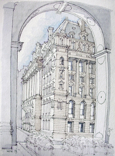 Surrogate Court Building by James Anzalone