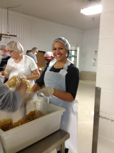 Volunteer Project at the Greater Chicago Food Depository - October 20, 2012