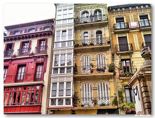 Casas em Bilbao by VRfoto