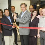 Parallel Reconfigurable Observational Environment ribbon cutting