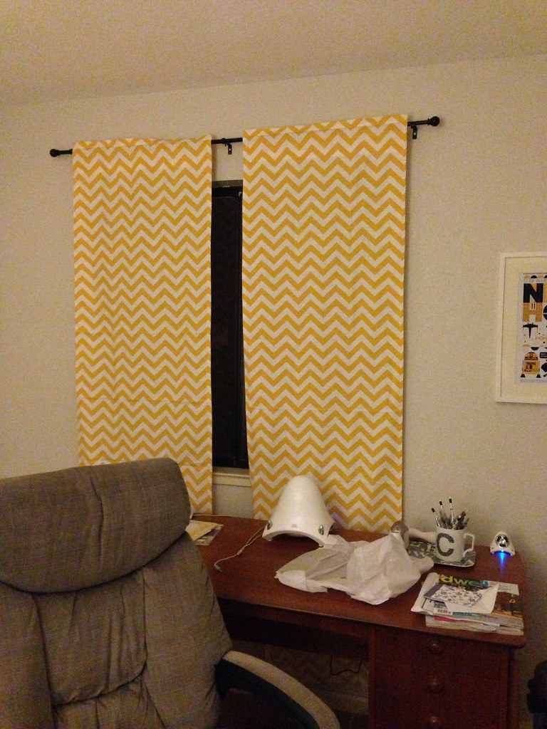 Curtains for my office!