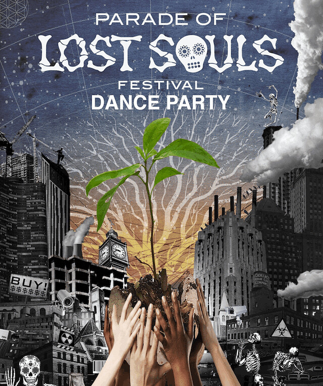 POLS Dance Party Poster