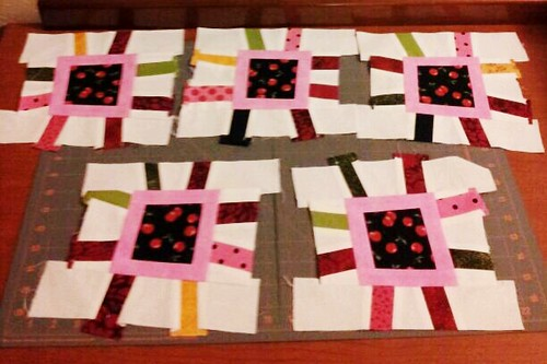 Last five blocks done by quilter4010