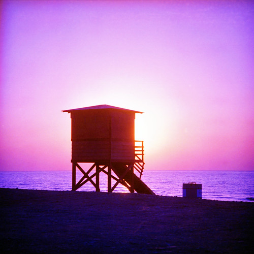 november sunset sea rollei rolleiflex square gold seaside mediterranean mediterraneo tramonto novembre mare kodak cyprus 200asa 200iso expired cipro 126 2010 lowsun kodakgold kolossi kourion scaduto scaduta sl26 28x28