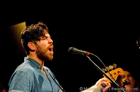 Milo Greene @ Bowery Ballroom, NY 10/25/12