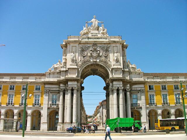 Arco-Praça-do-Comércio-Panorama-Lisboa