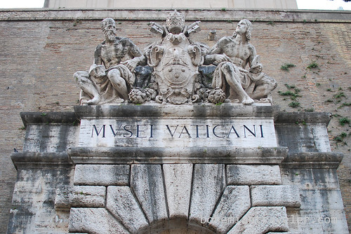 old entrance to Vatican