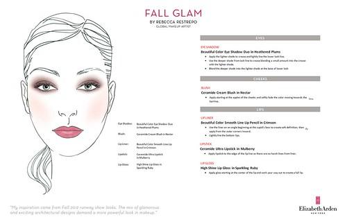 Fall Glam by Rebecca Restrepo