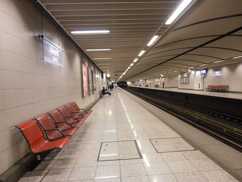 Metro Station in Athens