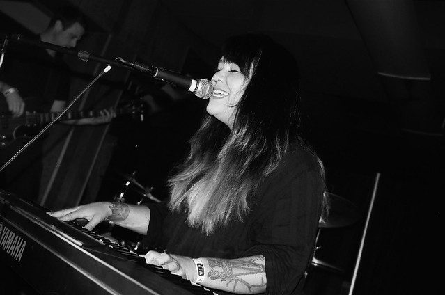 Nouela at the New York Fashion Academy during Reverbfest on October