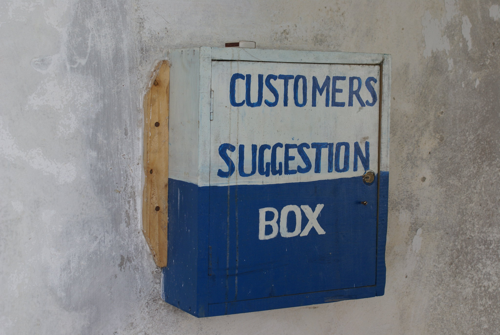 Lamu, Kenya: Electricity Corporation Suggestion Box