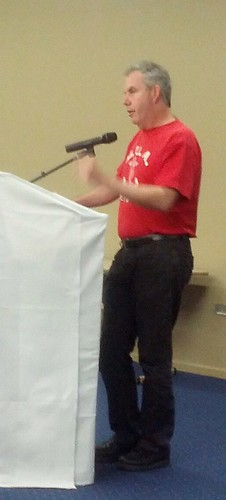 Michael Clifford speaks at Brisbane Labour History Association forum 121027