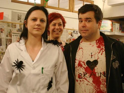 Bloody Parchment 2012: Nerine Dorman, Cat Hellisen, Sam Wilson