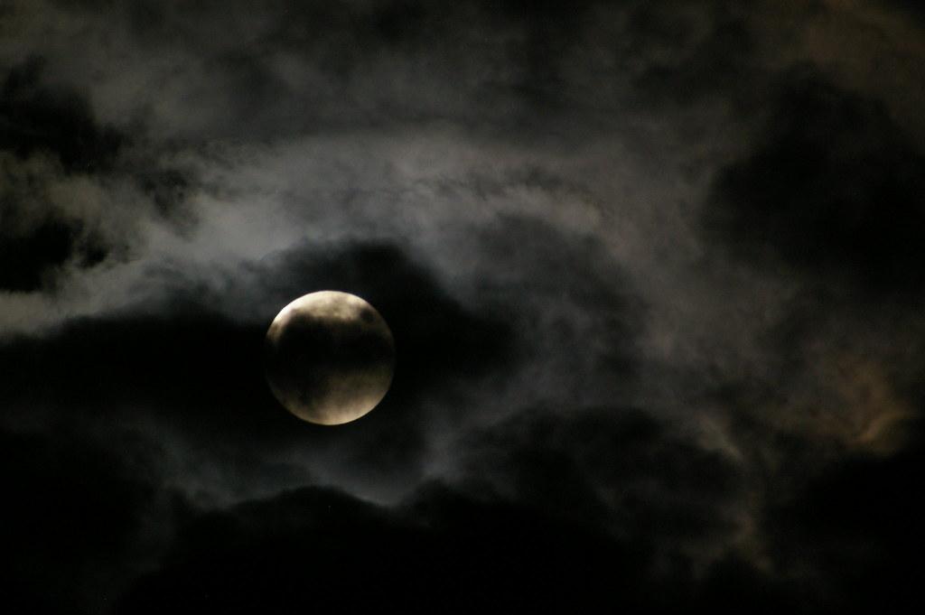 Happy Halloween full moon