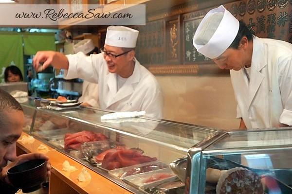 Tsukiji market - sushi dai - best sushi-009