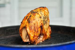 Grill-Roasted Herb-rubbed Turkey Breasts