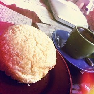 Mary Grace Hot Chocolate & Grilled Ensaymada @ Cafe Mary Grace