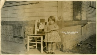 Little Girl, Big Chair