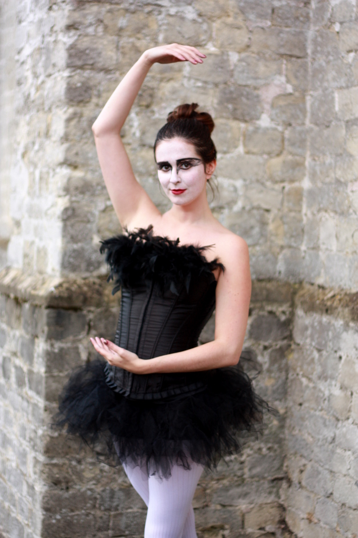 Halloween 2012: Black Swan Costume