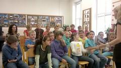 Beseda se žáky ZŠ v Drnholci, 24. 10. 2012