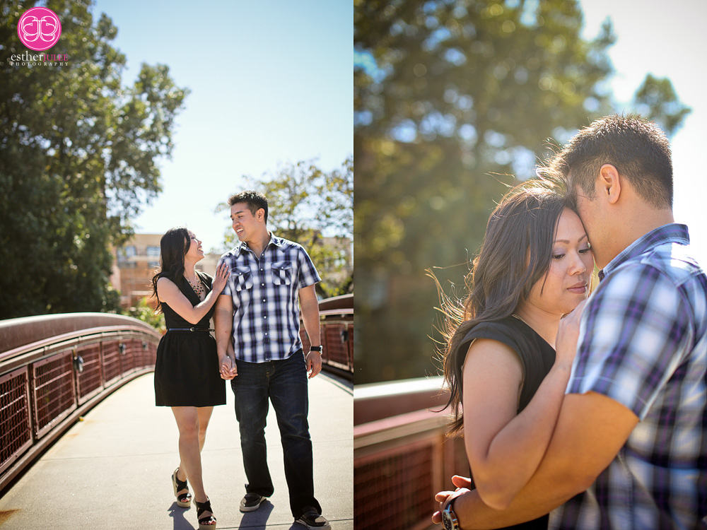 Tracey and Alan | Midtown Atlanta Engagement photographer