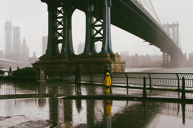Hurricane Sandy, the next morning in DUMBO