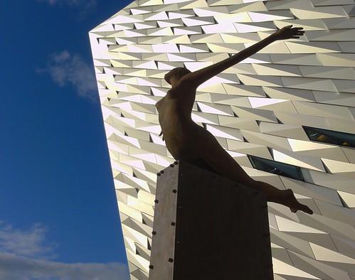 Titanic Belfast Sculpture