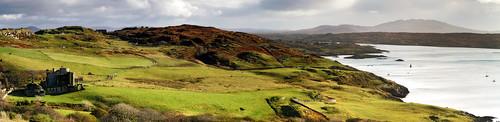 ireland irish castle galway landscape ruins cogalway connemara celtic clifden clifdencastle