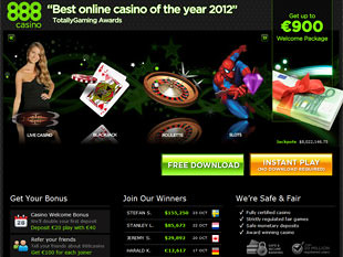 888 Casino Home