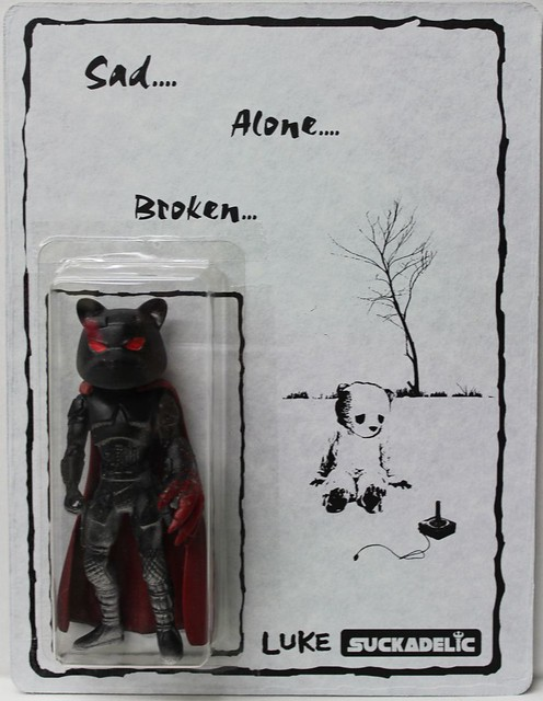 Sad... Alone... Broken... by Luke Chueh x Suckadelic Edition of 50 $100 each