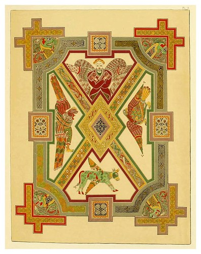 004-Fac-similes of the miniatures & ornaments of Anglo-Saxon & Irish manuscripts-1868