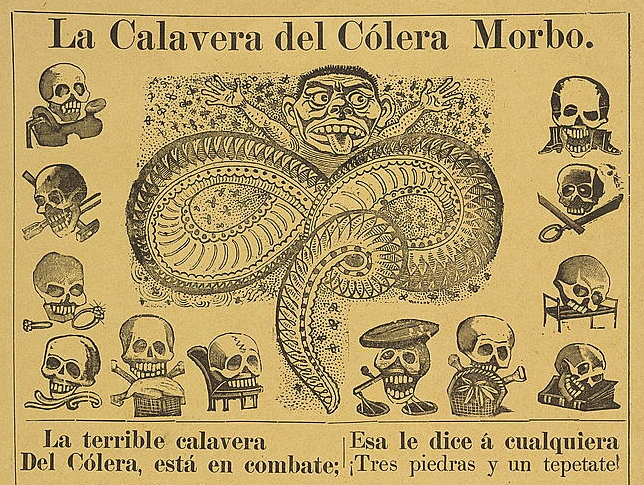 The Calaveras of José Guadalupe Posada – The Public Domain Review