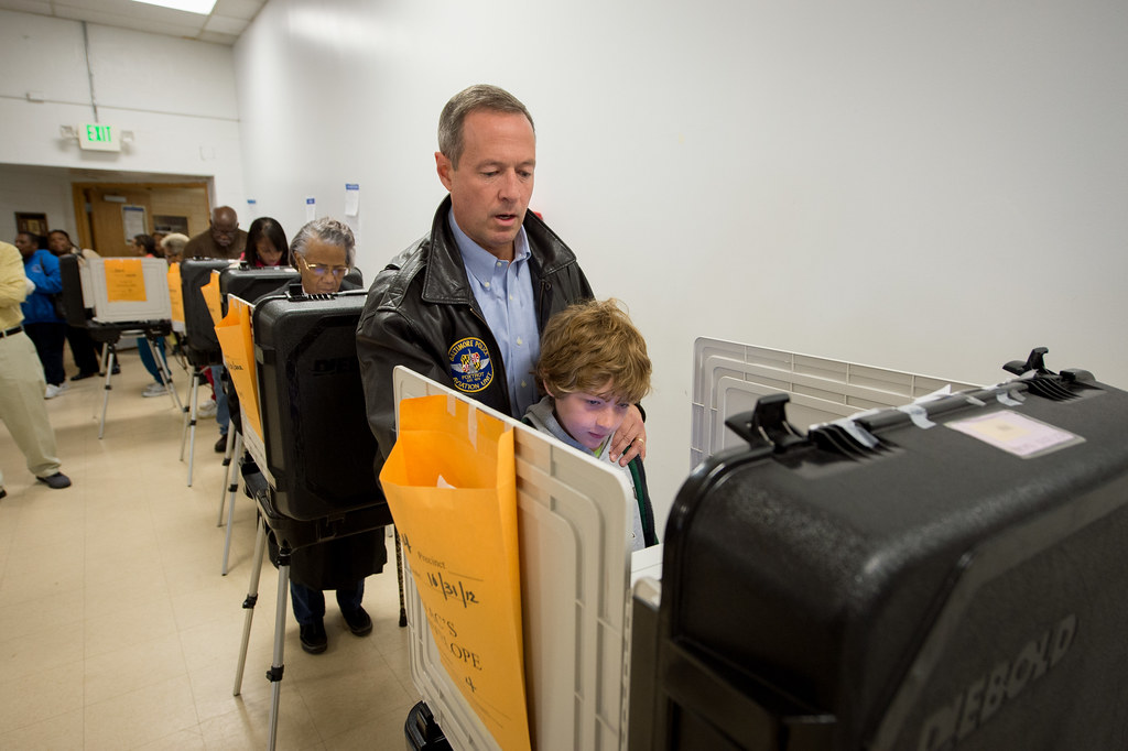 Governor Voting Early